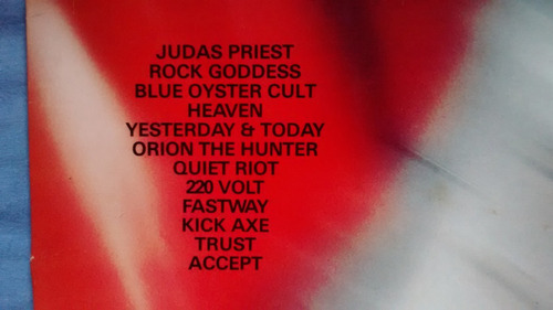lp vinil heavy rock