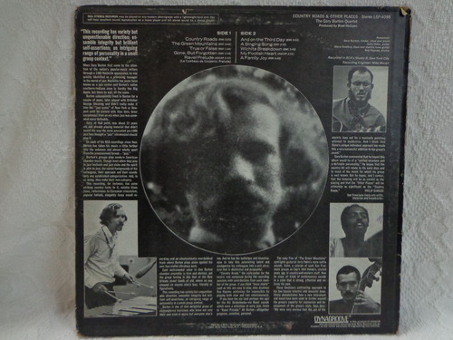 lp vinil-importado-the gary burton quartet-country roads1969