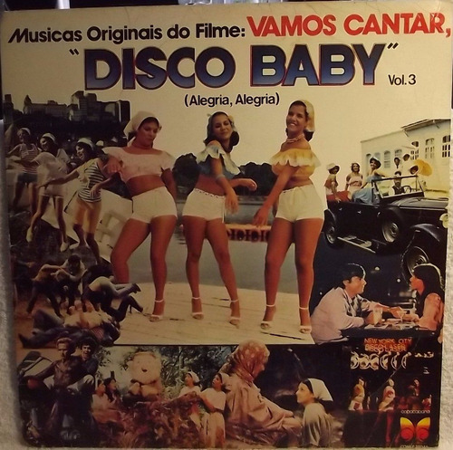lp / vinil infantil: as melindrosas - disco baby 3 - 1979