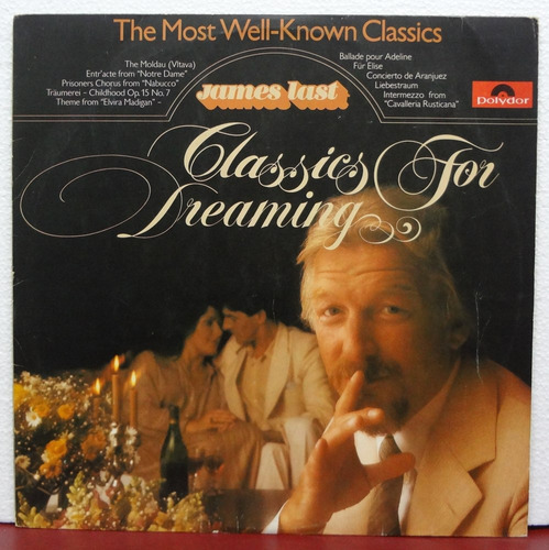 lp vinil - james last - classics for dreaming - 1980