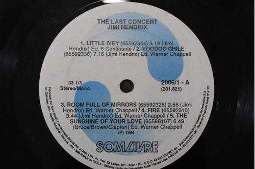lp vinil jimi hendrix the last concert
