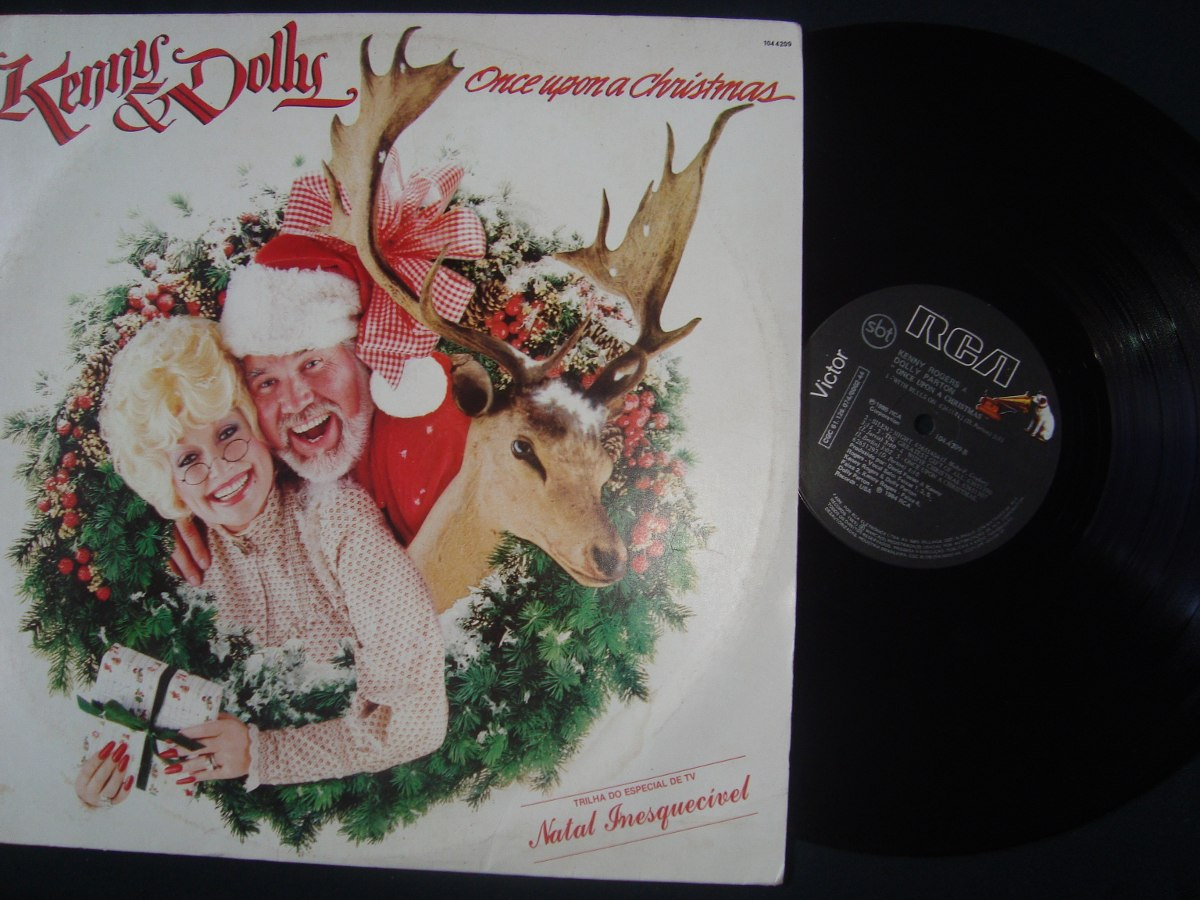 Lp Vinil Kenny Rogers & Dolly Parton - Once Upon A Christmas - R$ 18 ...