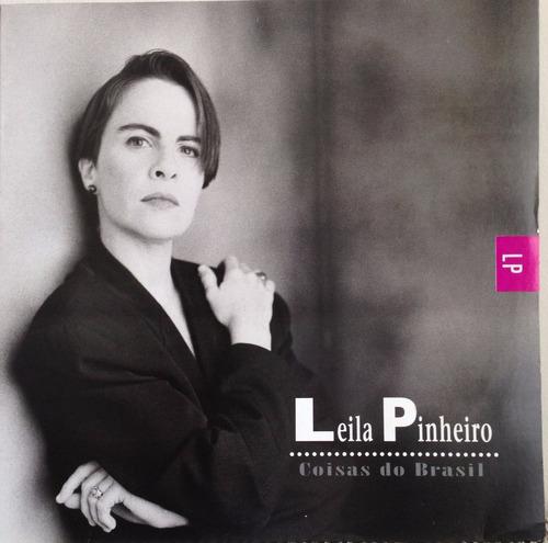 lp vinil - leila pinheiro - coisas do brasil - ano 1993.