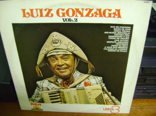 lp vinil luiz gonzaga vol 2 - 1979