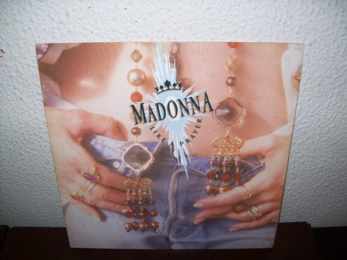 lp vinil - madonna - like a prayer