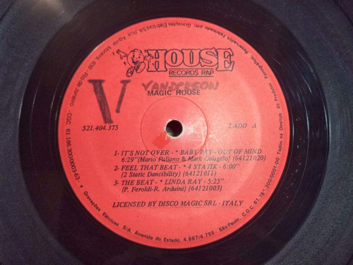 lp - vinil magic house