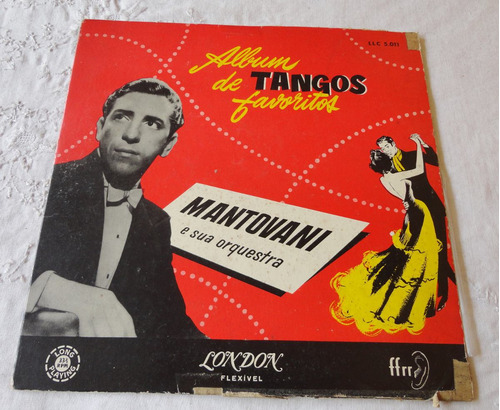 lp vinil mantovani e sua orquestra tangos favoritos