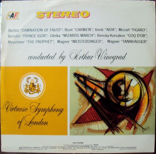 lp vinil - marches from operas - arthur winograd - 1982