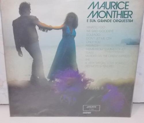 lp vinil  maurice monthier orquestra volume 8  1975