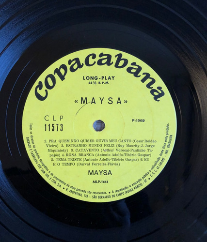 lp vinil - maysa - ano 1969 - raro!!!