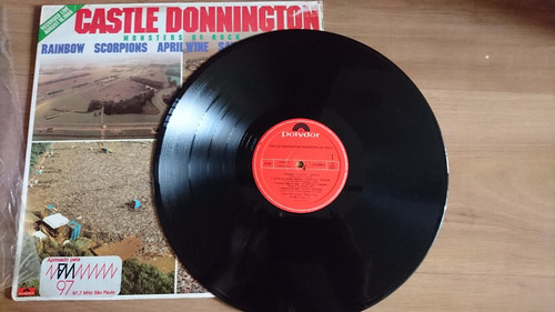 lp vinil monsters of rock castle donington 1980 - raridade!