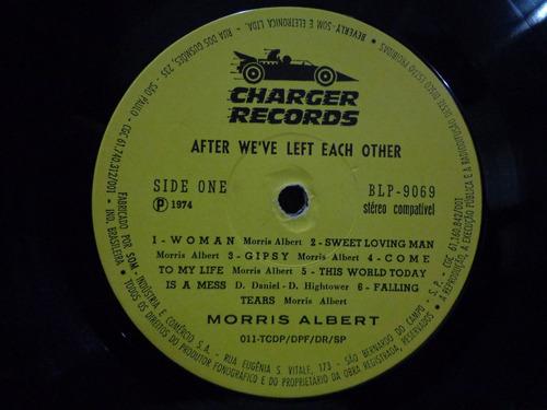lp vinil-morris albert-after we've left each other-1974