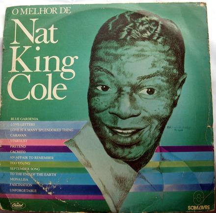 lp vinil - nat king cole - o melhor de nat king cole