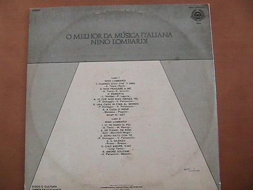 lp vinil o melhor da música italiana 1964