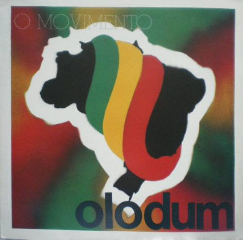 lp vinil - o movimento - olodum