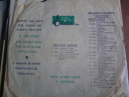 lp vinil orquestra los romanticos del caribe box c/ 6
