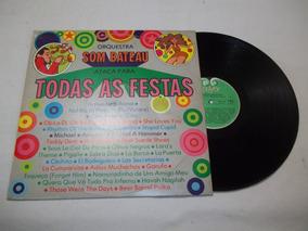 ad5e9c5ef6 Lp Orquestra Som Bateau Ataca Para Todas As Festas - Vinil   LPs de ...