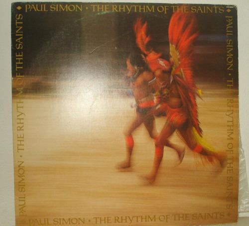 lp vinil  paul simon the rhythm of the saints 1990
