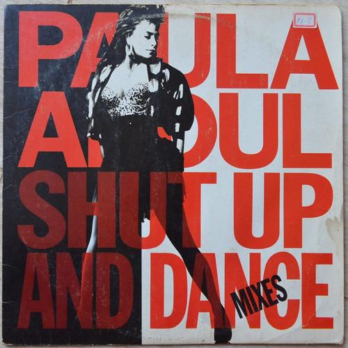 lp vinil - paula abdul - shut up and dance mixes - 1990