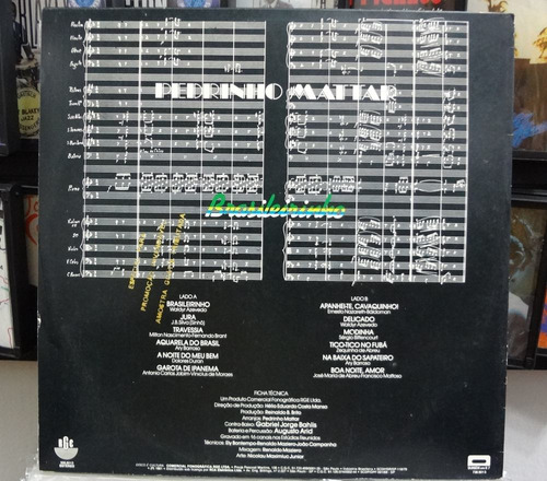 lp vinil - pedrinho mattar - brasileirinho - 1981
