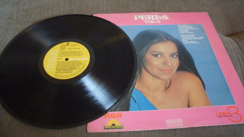 lp vinil perla linha 3 disco de ouro vol 3 de 1981 - raro mb