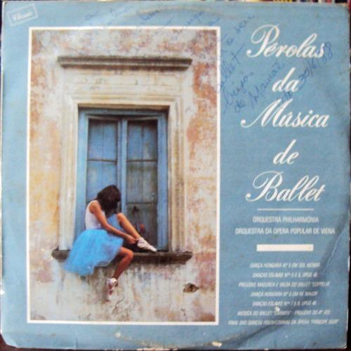 lp vinil - pérolas da música de ballet - 1978-1987