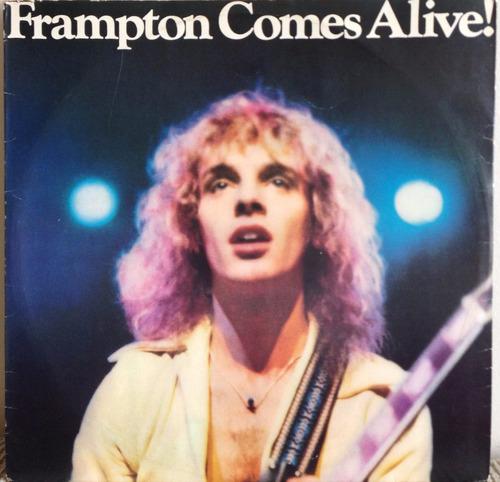 lp vinil peter frampton gomes alive ! álbum duplo.
