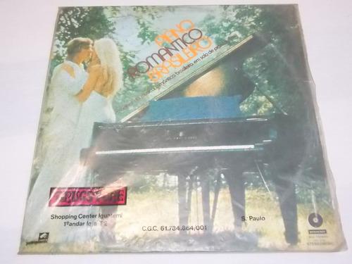 lp vinil piano romantico brasileiro chantecler 1974