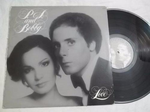 lp vinil - p.j. and bobby - love - rock pop internacional