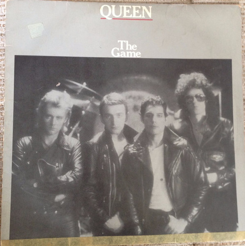 lp vinil - queen - the game