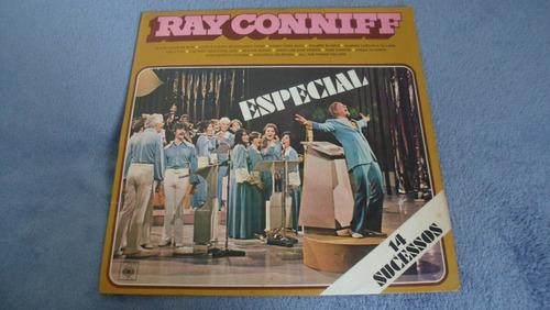 lp vinil ray connif especial 1977 - cbs - orquestra