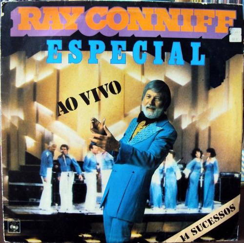 lp vinil - ray conniff - especial ao vivo