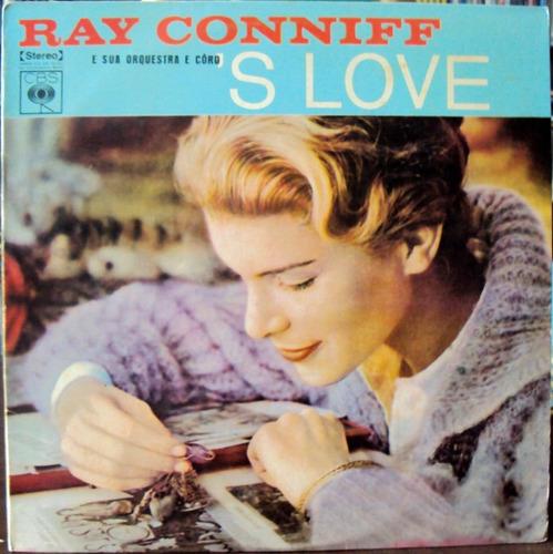 lp vinil - ray conniff - s love - 1974