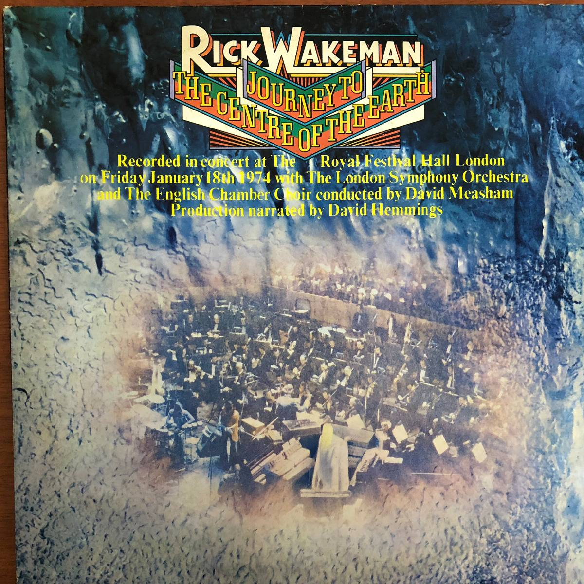 Lp Vinil Rick Wakeman Journey To The Centre Of The Earth ...