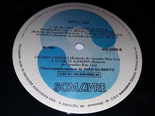 lp vinil rita lee e roberto de carvalho - 1982 -com encarte.
