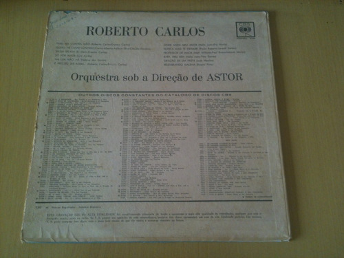 lp vinil roberto carlos/splish splash-monaural 37304
