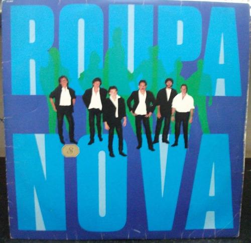 lp / vinil rock nacional. roupa nova - show rock'n (a) 1985