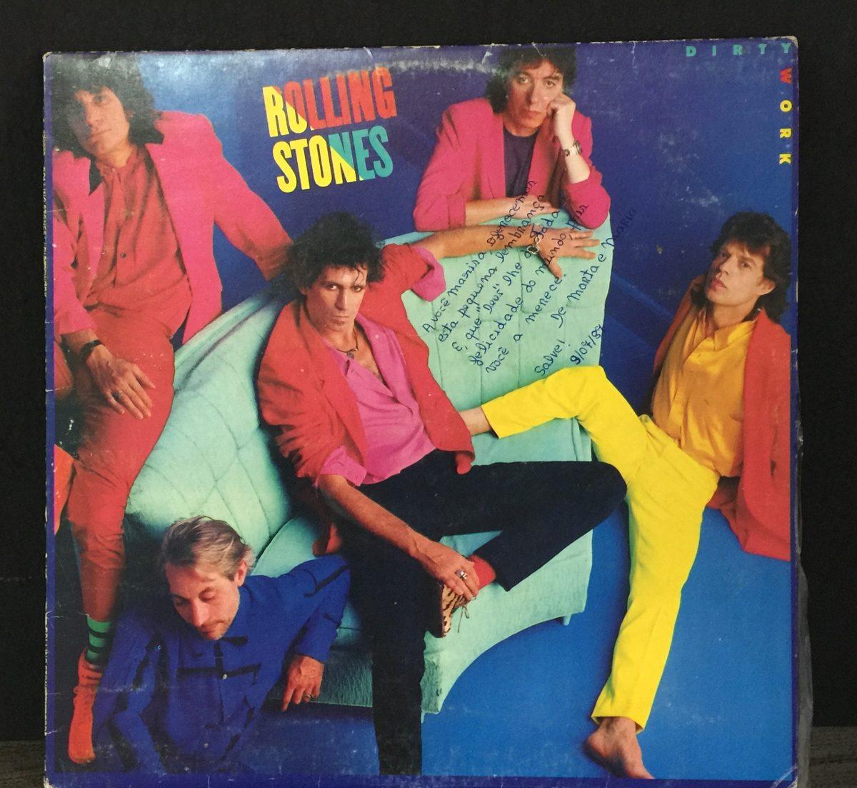 Lp Vinil Rolling Stones Dirty Work 1986 - R$ 21,00 em