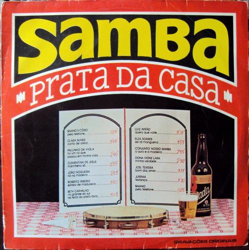 lp vinil - samba - prata da casa - 1975
