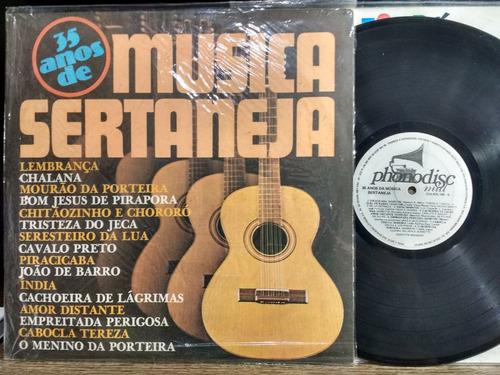 lp vinil sertanejo caletânia  35 anos de musica sertaneja