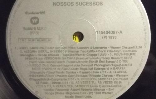 lp / vinil sertanejo: nossos sucessos ( coletânea ) - 1993