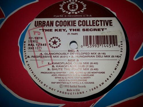lp vinil single dance urban cookie collective the key secret