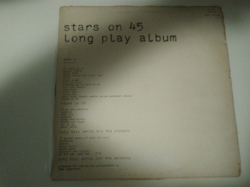 lp vinil stars on 45