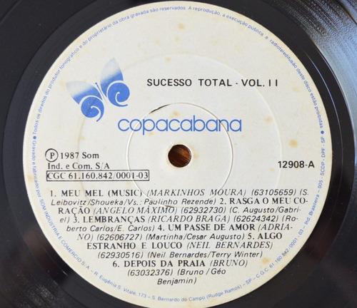 lp vinil - sucesso total vol.2
