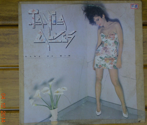 lp vinil - tania alves - dona de mim - 1986