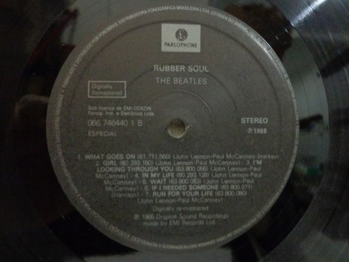 lp vinil-the beatles-rubber soul-parlophone-1988-impecável