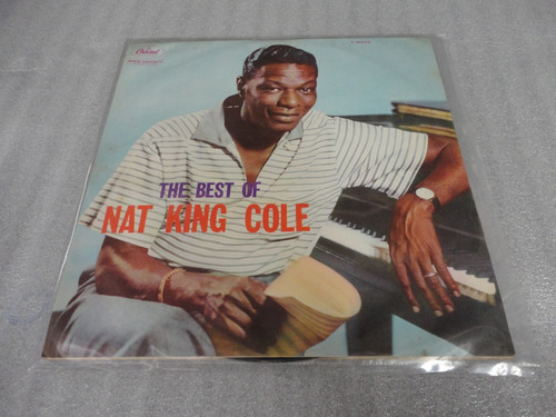 lp vinil the best of nat king cole - clássico!