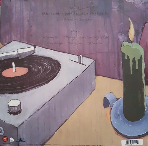 lp vinil the get up kids ¿ something to write home about