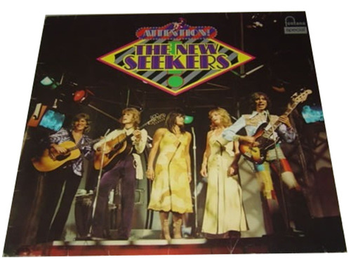 lp vinil the new seekers attention importado alemanha 1972 /