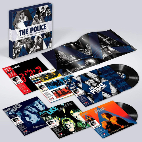 lp vinil the police - box every move remaster abbey road